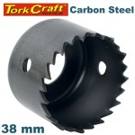 HOLE SAW CARBON STEEL 38MM