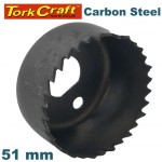HOLE SAW CARBON STEEL 51MM
