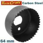 HOLE SAW CARBON STEEL 64MM