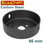 CARBON STEEL HOLE SAW 86MM