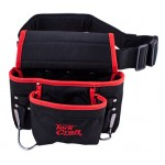 TOOL POUCH NYLON WITH BELT 8 POCKET + LOOPS