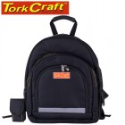 TOOL & LAPTOP BACKPACK BLACK RUBBER FEET 46 X 20 X 45CM TORK CRAFT