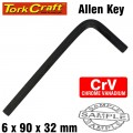 ALLEN KEY CRV BLACK FINISHED 6.0 X 90 X 32MM