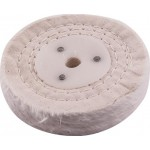 WHITE BUFF/MOP 100MM X 2 SECTION X 20MM THICK