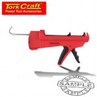 SILICONE CAULK GUN SINGLE HAND FUNC HD COMPOSIT CART 310ML 1300N