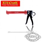 SILICONE CAULK GUN 4500N METAL SINGLE CART 310ML