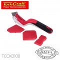 4PC CAULKING TOOL SET