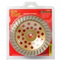 DIA. CUP WHEEL 180 X 22.23MM TURBO LASER WELDED