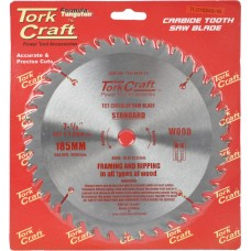 BLADE TCT 185 X 40T 16MM GENERAL PURPOSE COMBINATION