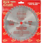 BLADE TCT 210  X 40T 16MM GENERAL PURPOSE COMBINATION