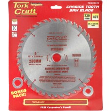 BLADE TCT 230 X 40T30/1/20/16 GENERAL PURPOSE COMBINATION