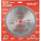 BLADE TCT 230 X 60T 30/1/20 GENERAL PURPOSE CROSS CUT