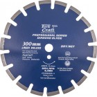 DIAMOND BLADE 300 x 25.4MM ASPHALT LASER WELDED SEGMENTED TAR