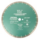 DIA. BLADE 350x25.4MM GREEN/NEW CONCRETE HOT PRESSED