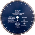 DIAMOND BLADE 350x25.4MM GREEN / NEW CONCRETE LASER WELDED SEGMENTED