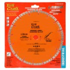 DIAMOND BLADE 230X22.22 TURBO/SEGM.LASER