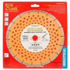 DIAMOND BLADE MULTI PURP.SEGM.230MM HARD & SOFT MAT.