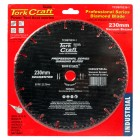 DIAMOND BLADE SEG.230X22.23MM VACUUM BRAZED METAL CUTTING