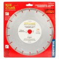 DIAMOND BLADE SEG.230X22.23MM METAL CUTTING
