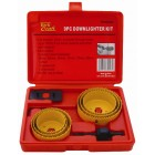 DOWNLIGHTER INSTALLERS KIT 9PCE IN CASE