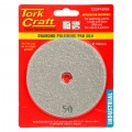 100MM DIAMOND POLISHING PAD 50 GRIT GREY