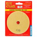 100MM DIAMOND POLISHING PAD 150 GRIT YELLOW
