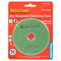 100MM DIAMOND POLISHING PAD 1000 GRIT DRY USE