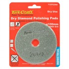 100MM DIAMOND POLISHING PAD 2000 GRIT DRY USE