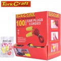 EAR PLUG CORDED 1PR POLY BAG 100 PR PER BOX BULLET SHAPE YELLOW