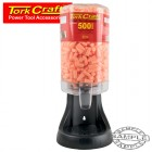 EAR PLUG DISPENSER C/W 500 PAIRS OF EAR PLUGS