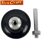 PLASTIC BACKING PAD SCREW TYPE WITH ARBOR FOR SURFACE CONDITIONING KIT