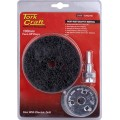 FACE OFF DISC & ARBOR 100MM CARDED FOR DRILL