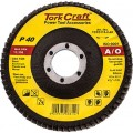 FLAP DISC 115MM 15 DEG.ANGLE 40GRIT
