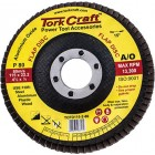 FLAP DISC 115MM 15 DEG.ANGLE 80GRIT