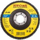 FLAP DISC  ZIRCONIUM 115MM 40 GRIT FLAT