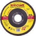 FLAP SANDING DISC 115MM 80 GRIT