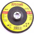 FLAP DISC 180MM 15 DEG.ANGLE 40GRIT