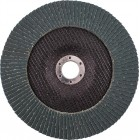 FLAP DISC ZIRCONIUM 180MM 40GRIT ANGLED