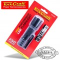 TORCH LED ALUM. 250LM BLK USE 3 X AAA BATTERIES TORK CRAFT FLASH LIGHT