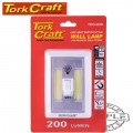 LIGHT SWITCH LED 200LM USE 4XAAA BAT TORK CRAFT