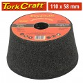GRINDING WHEEL 110X58 M22 BORE - BOWL#36 - ANGLE GRINDER