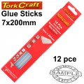 GLUE STICK 07 X 200MM 12PC HOT MELT GEN. PURPOSE EVA 18000CPS