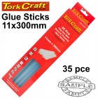 GLUE STICK 11 X 300MM 35PC 1KG HOT MELT GEN. PURPOSE EVA 18000CPS