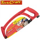 ALUMINUM ALLOY HACKSAW FRAME 300MM C/W FLEXIBLE DOUBLE EDGE BLADE