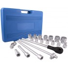 "SOCKET SET 20PC 3/4"" DRIVE 6PT 19 - 50MM IN BLOW MOULD CASE"
