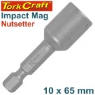 IMPACT NUTSETTER MAGNETIC 10X65MM CARDED