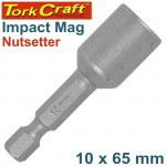 IMPACT NUTSETTER 10 X 65MM MAGNETIC CARDED