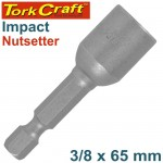 """IMPACT NUTSETTER 3/8""""X 65MM MAGNETIC CARDED"""