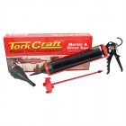 MORTAR & GROUT GUN 1000ML 310MM 2000N C/W 2 X NOZZLE & MIXER