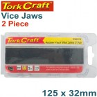 VICE JAWS MAGNETIC ALUM. 125MM X 32MM 2PC RUBBER FACE